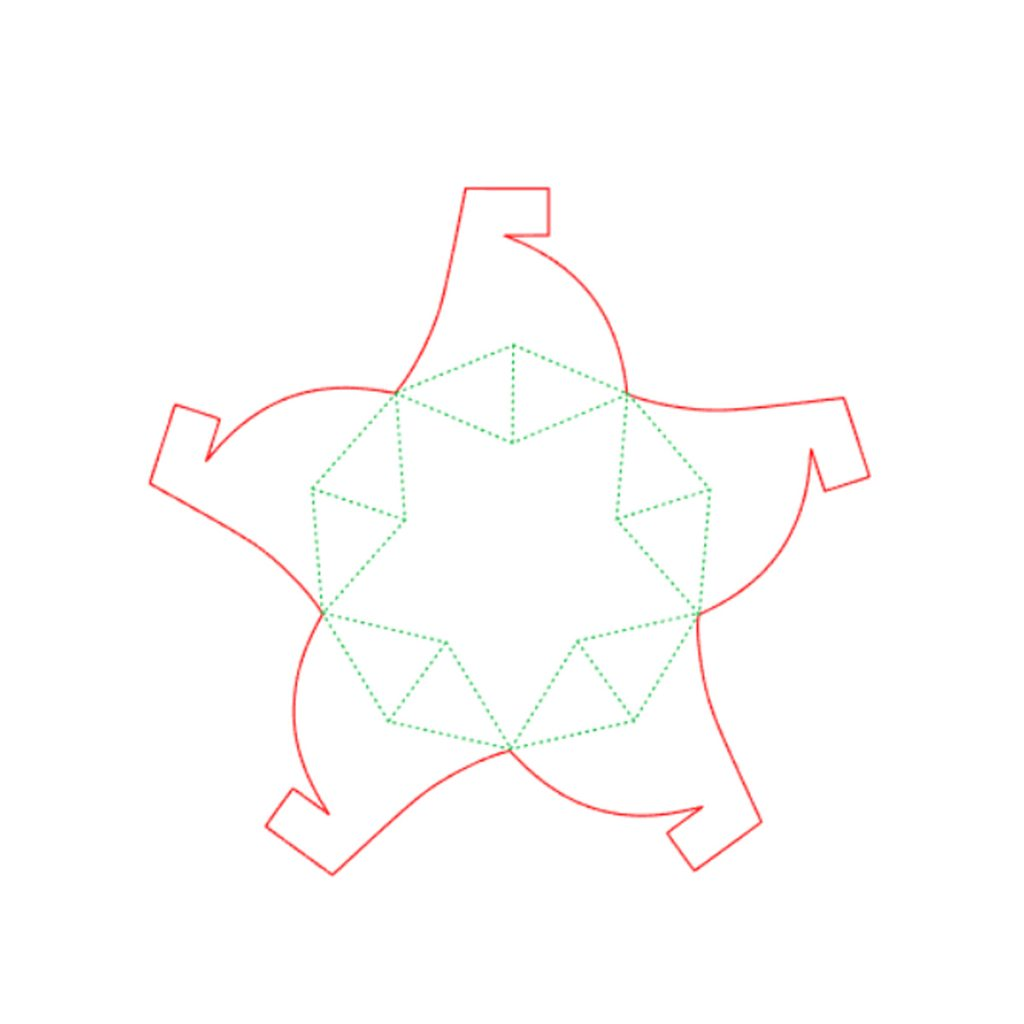 Star Shaped Box