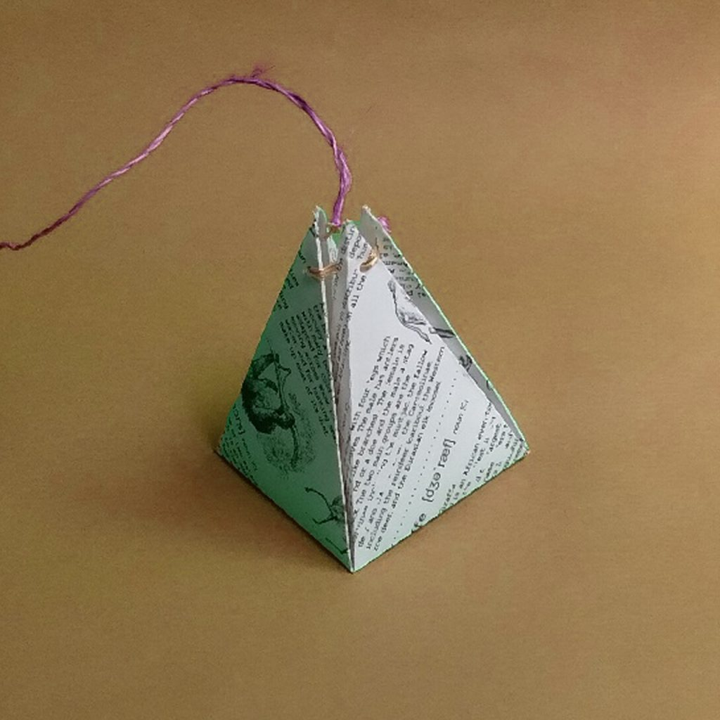 Pyramid Shaped Box