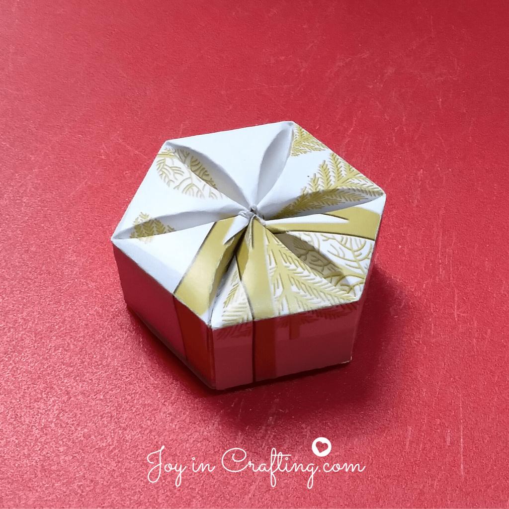 inverted hexagon box