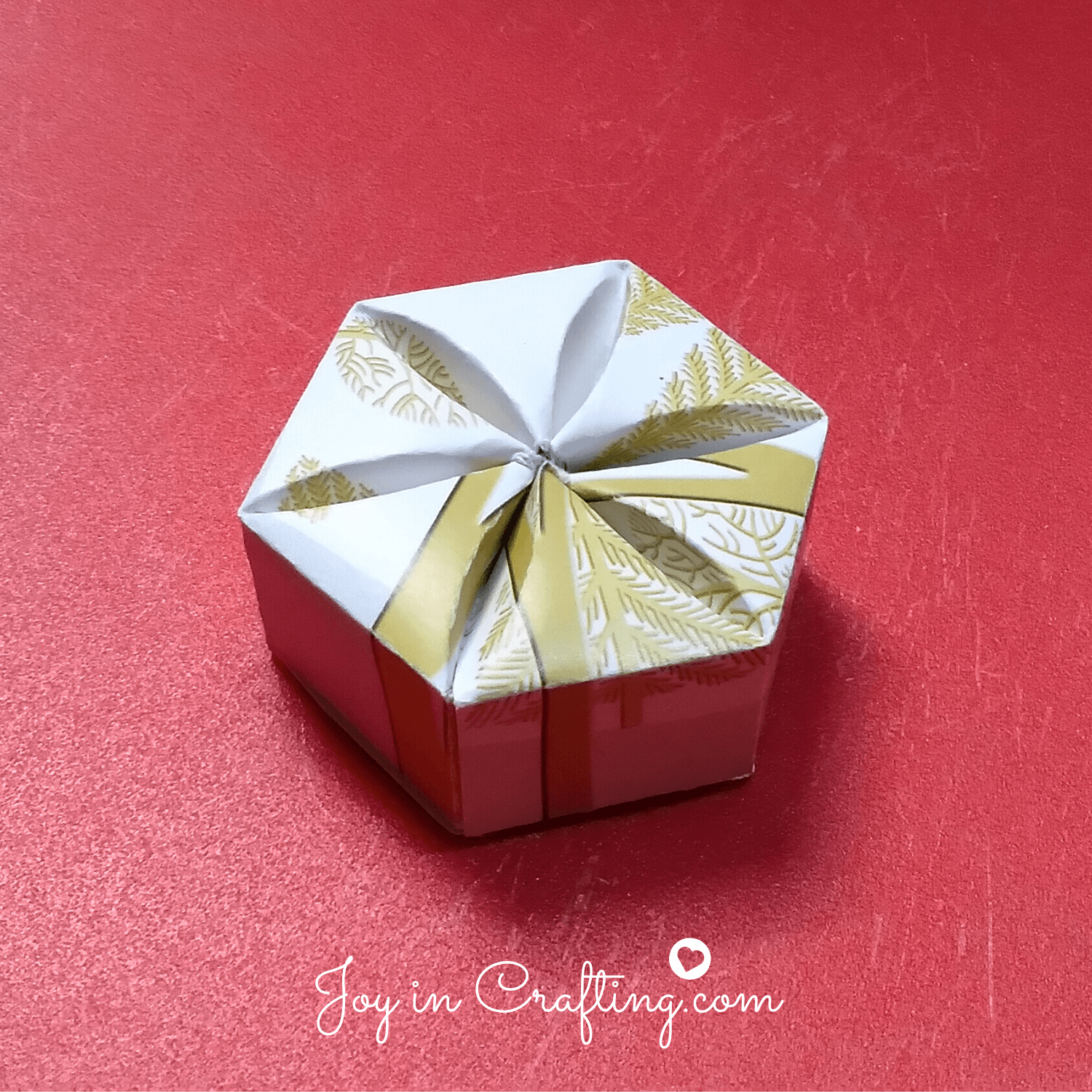 Inverted Hexagon Box