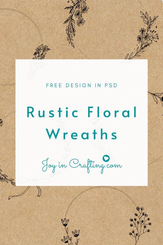 Rustic Floral Wreath