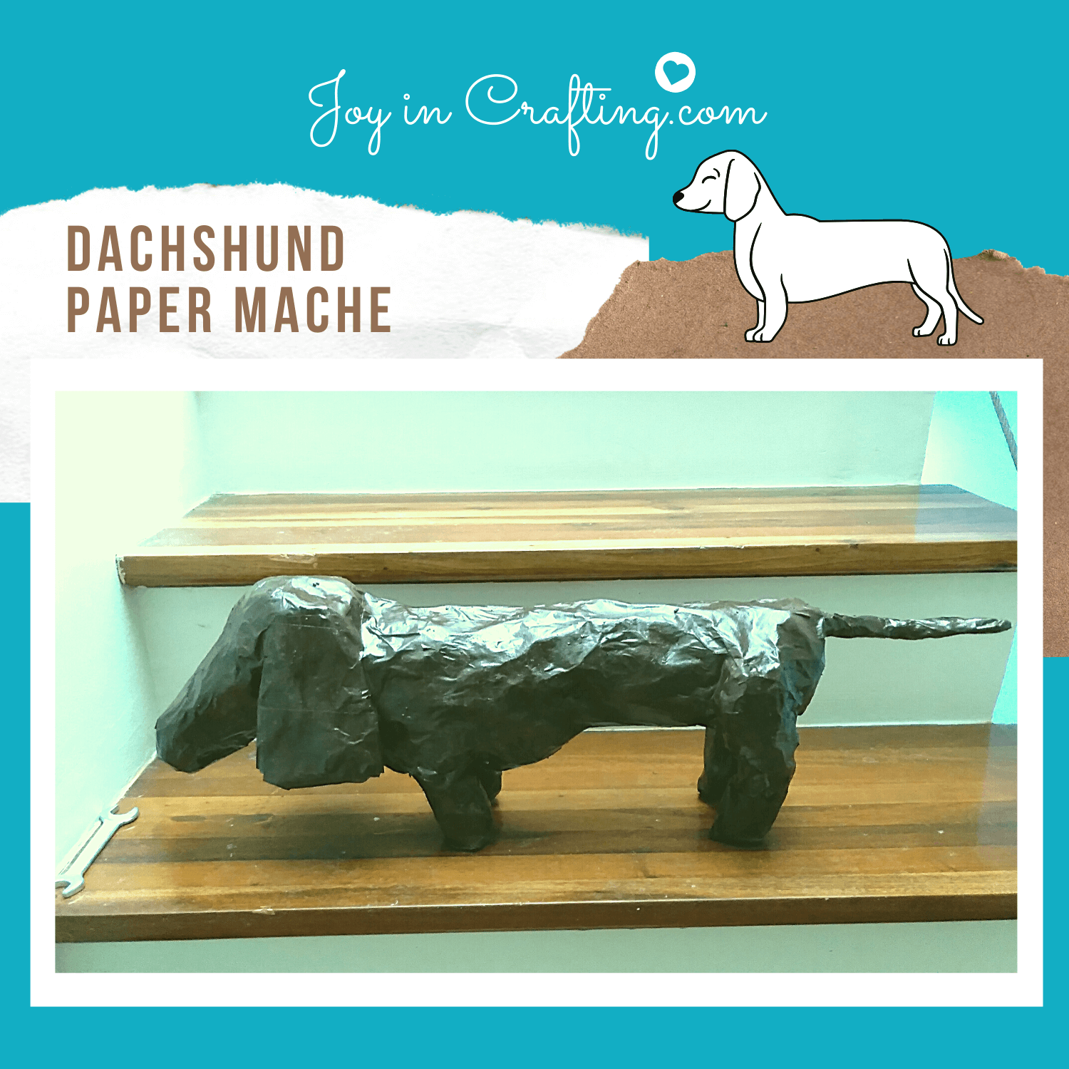 Easy Paper Mache Animal for Kids
