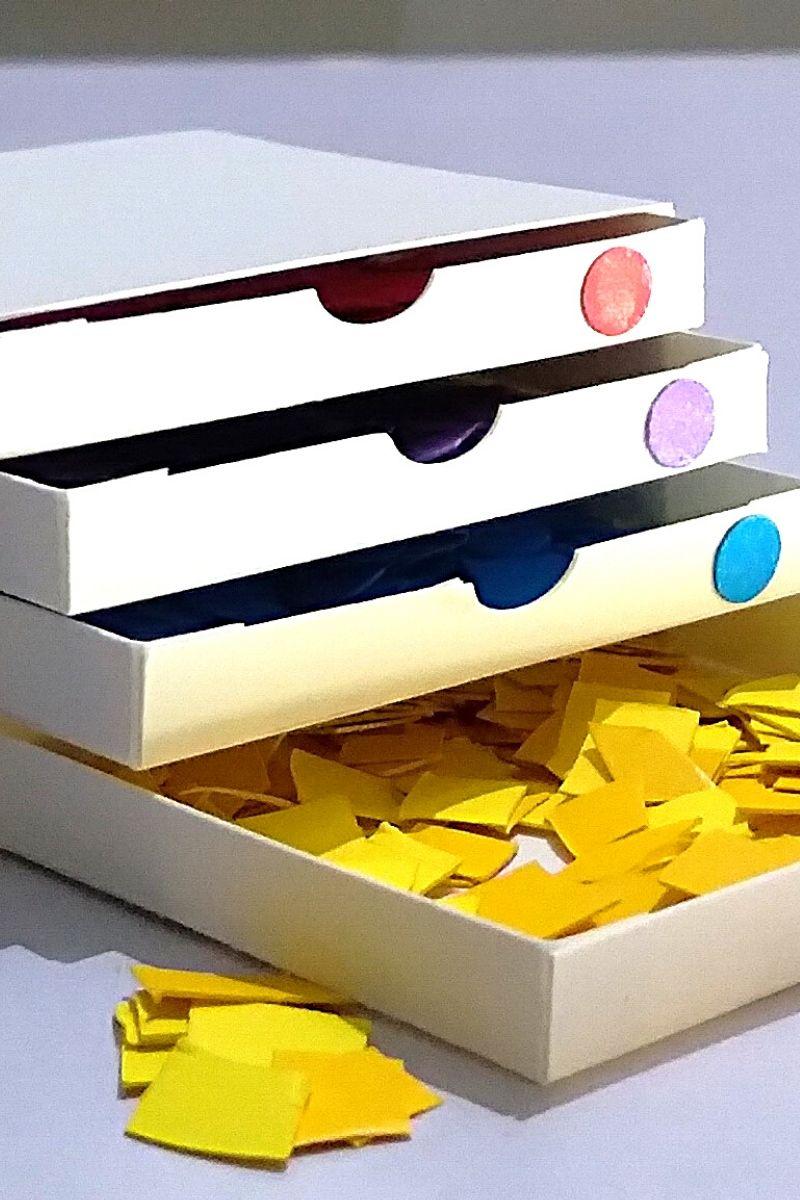 Miniature Filing Cabinet Organizer