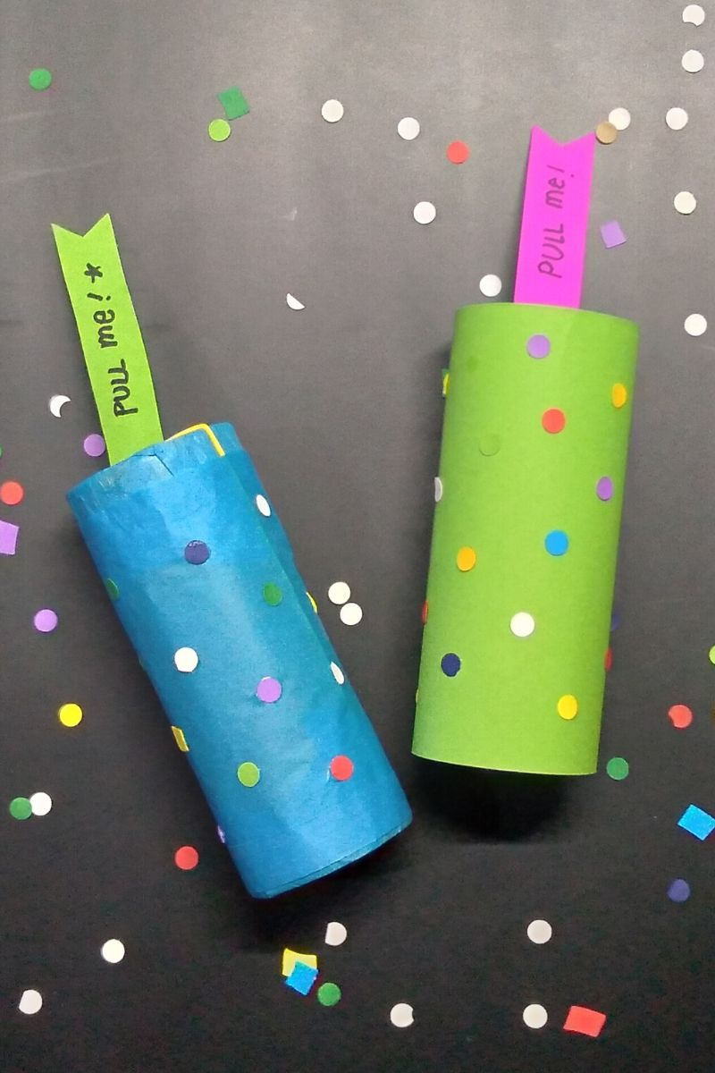 How to Make Confetti Poppers without Balloons