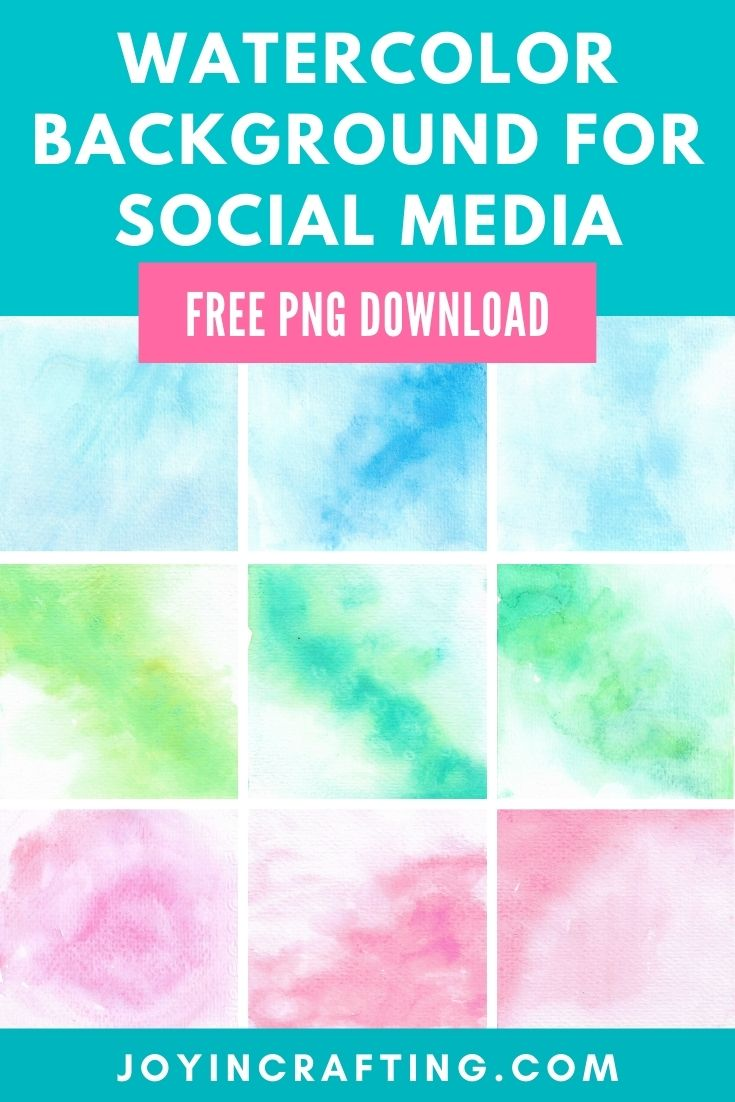 Watercolor Background For Your Social Media Design