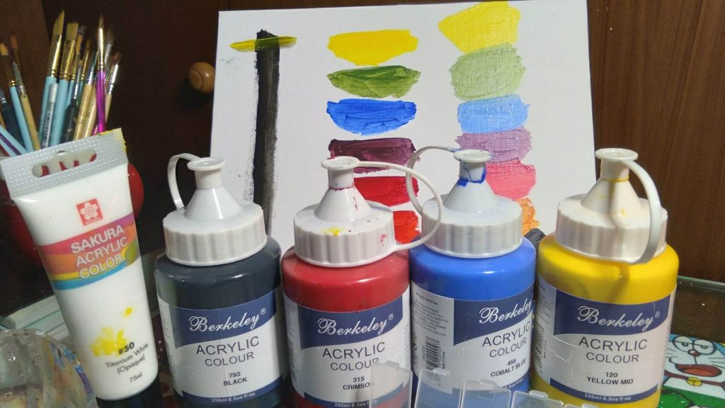 Berkeley Acrylic Paint Review