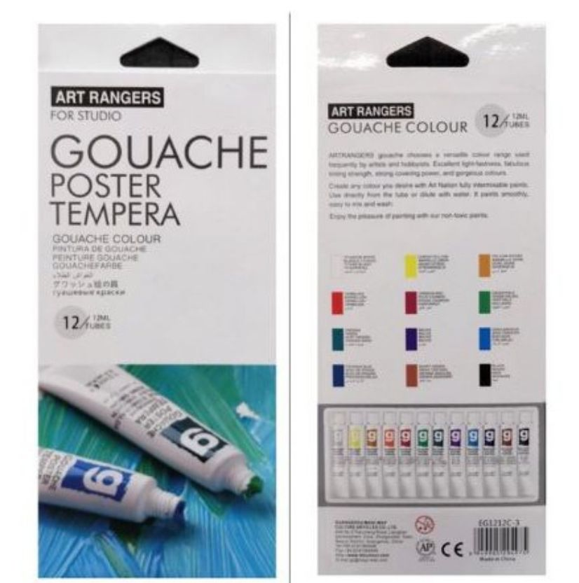 Art Rangers Gouache Review from Shopee Philippines