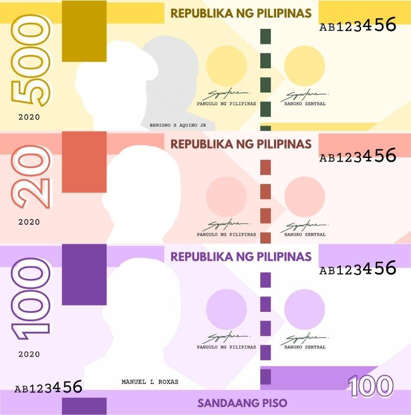 Printable Philippine Play Money 2020