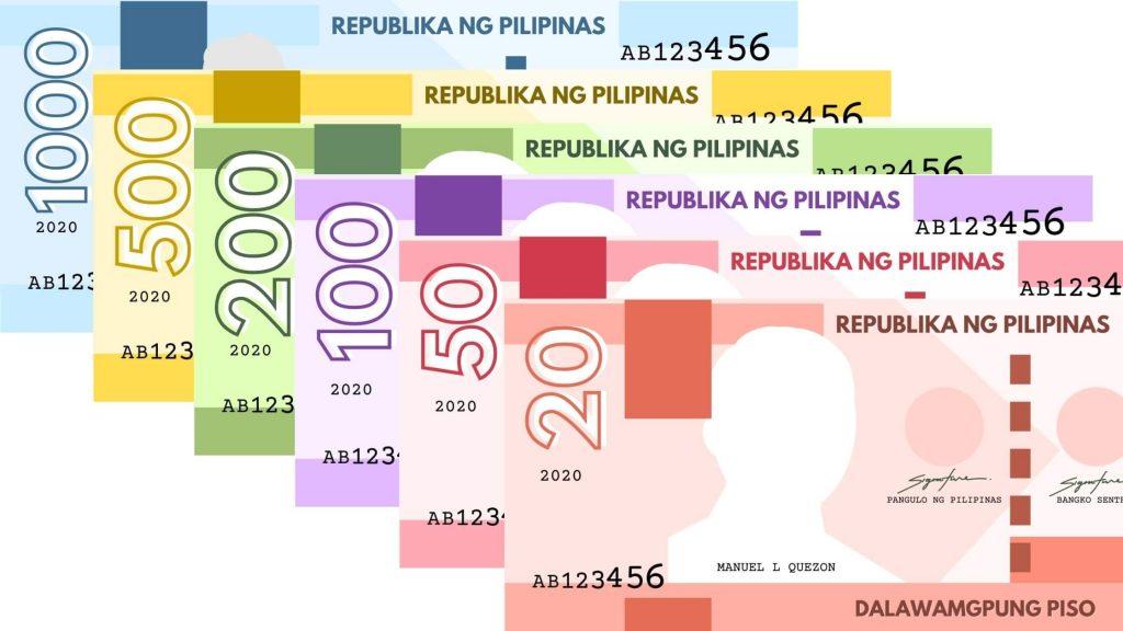 Printable Philippine Play Money