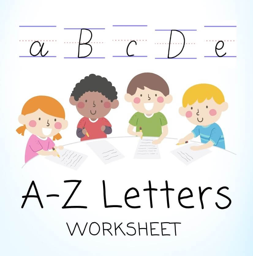 Alphabet Letter Practice Worksheets for Kids