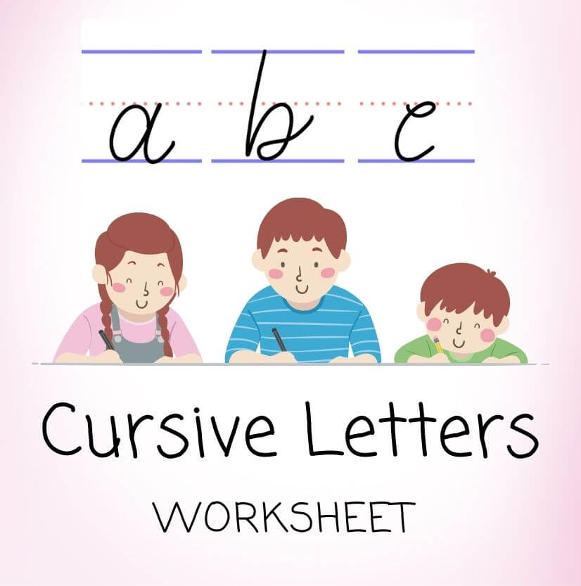 Cursive Printable Letters Worksheet