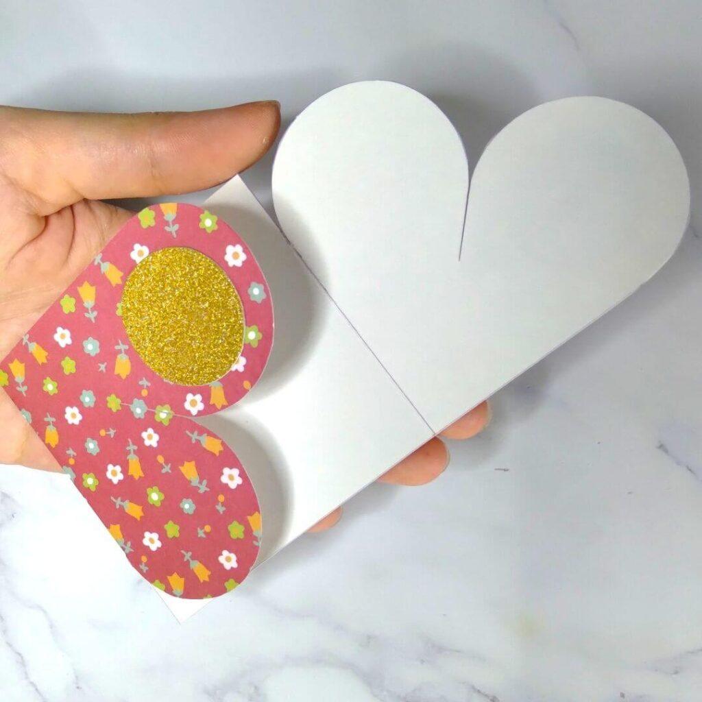 Yin Yang Valentine's Heart Card