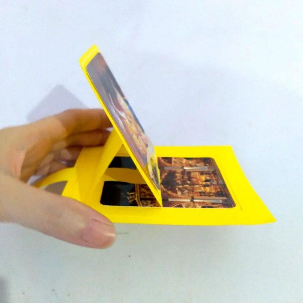 Slider Pop Up Card Template