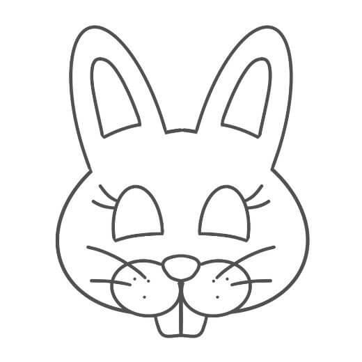 Easter Bunny Mask