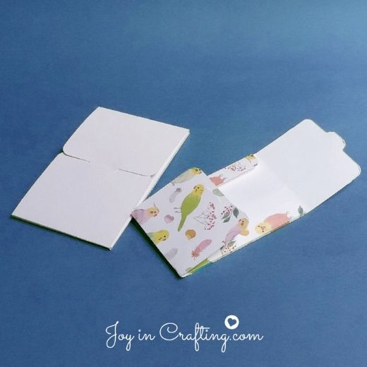 Gift Card Envelope – for Silhouette Cameo