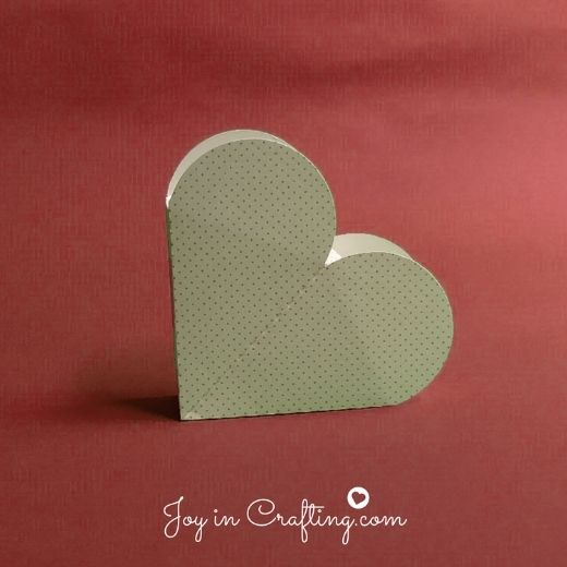 Heart Box template