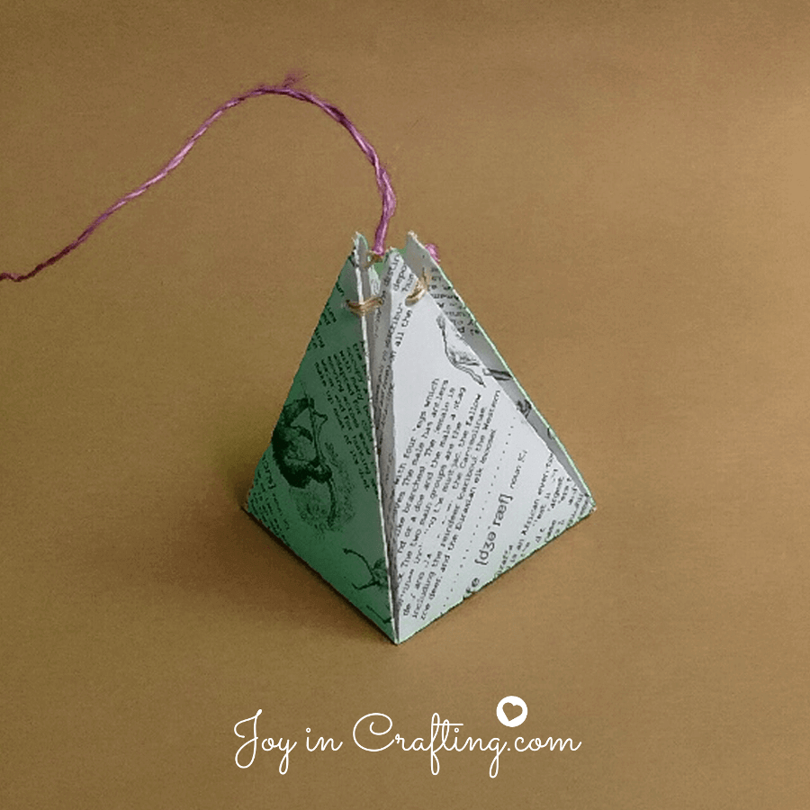 How to Make a Pyramid Shaped Box