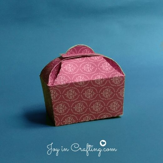 Cute Takeout Box Template
