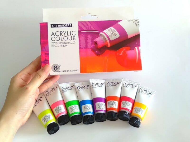 Art Rangers Acrylic Review