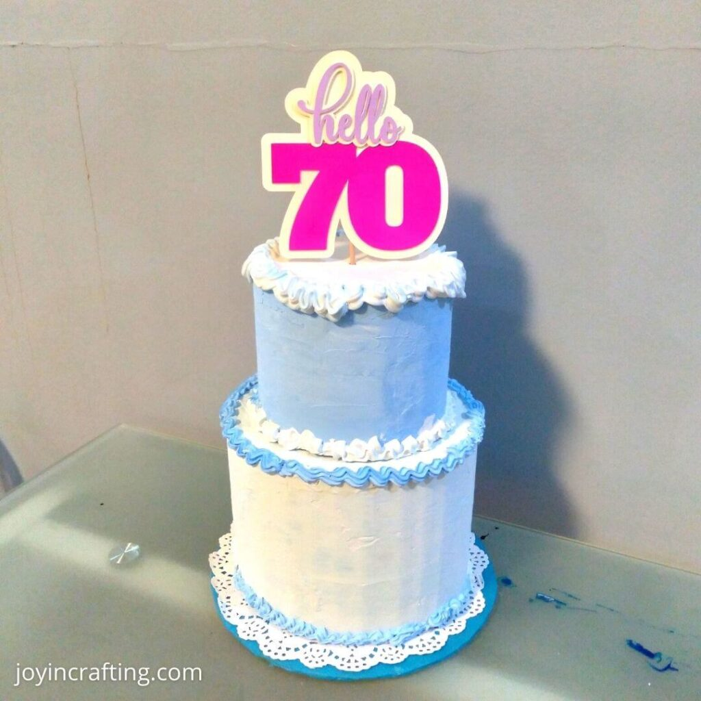 Cake Topper design