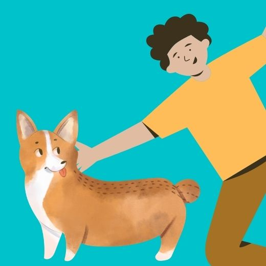 Dog Dad Fathers Day greetings